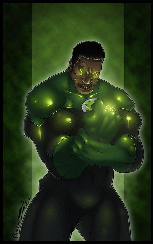 Green Lantern by verauko
