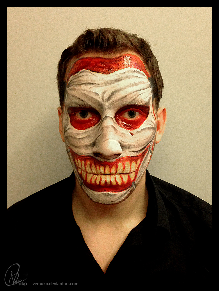 Halloween Makeup 2014 by verauko