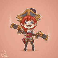 League of Gals - Miss Fortune