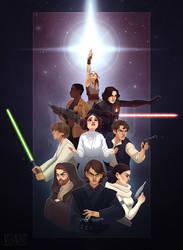 The Force Around Us by verauko