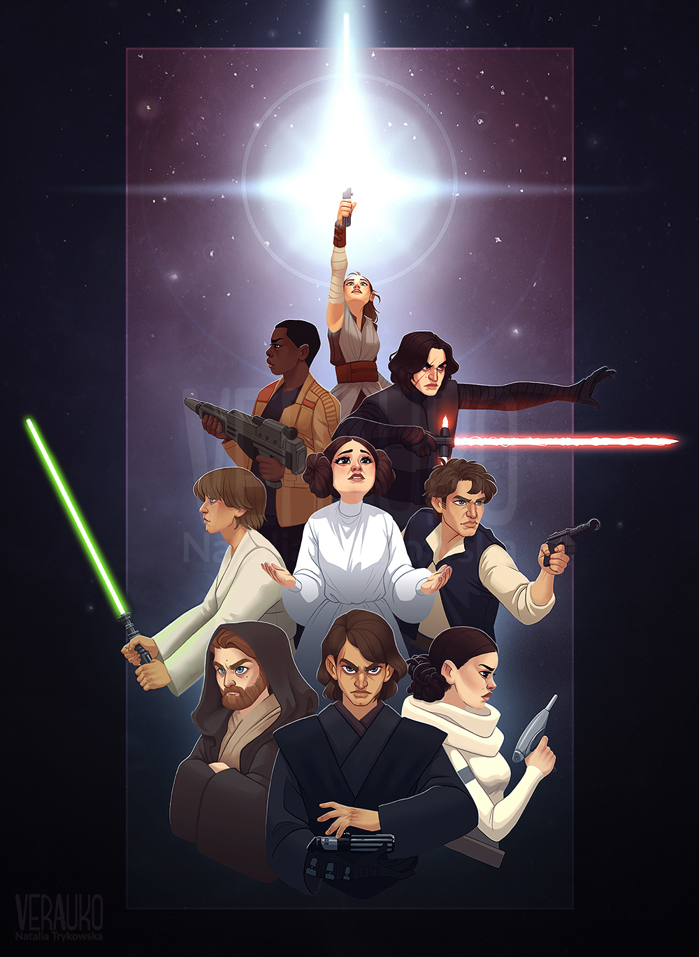 The Force Around Us by verauko