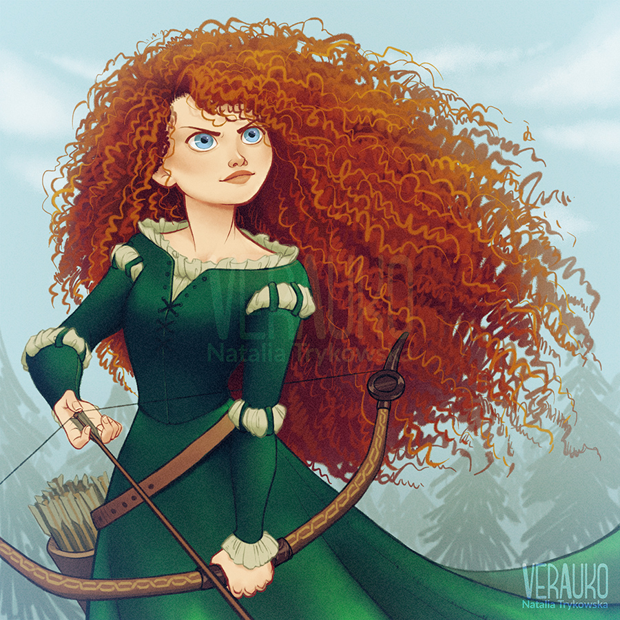 This is a photo of Fan Pictures of Merida From Brave