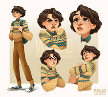 Mike Wheeler - Character Study