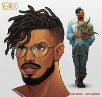 Killmonger by verauko