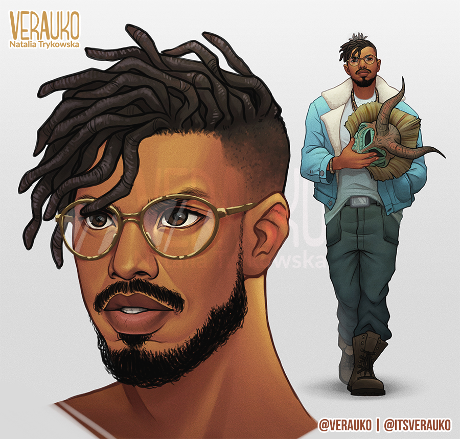 killmonger by verauko on deviantart. Black Bedroom Furniture Sets. Home Design Ideas