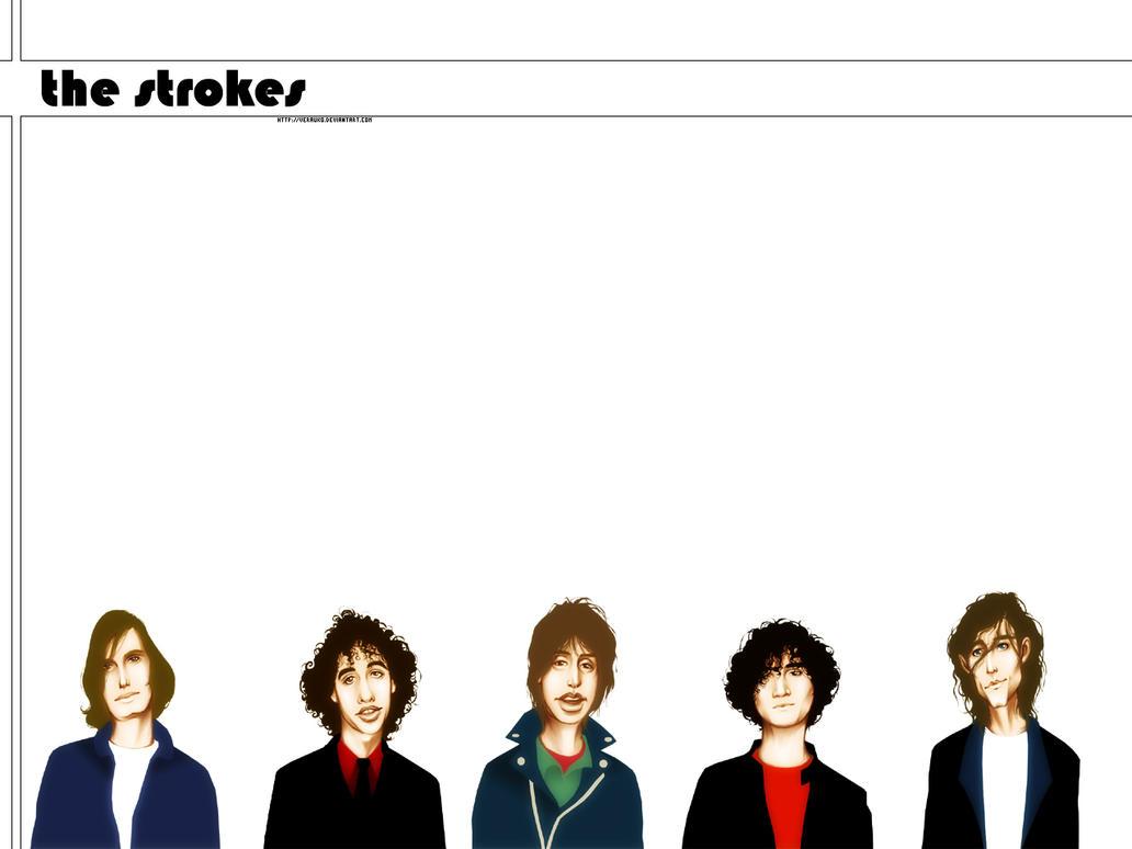 The Strokes Wallpaper by verauko