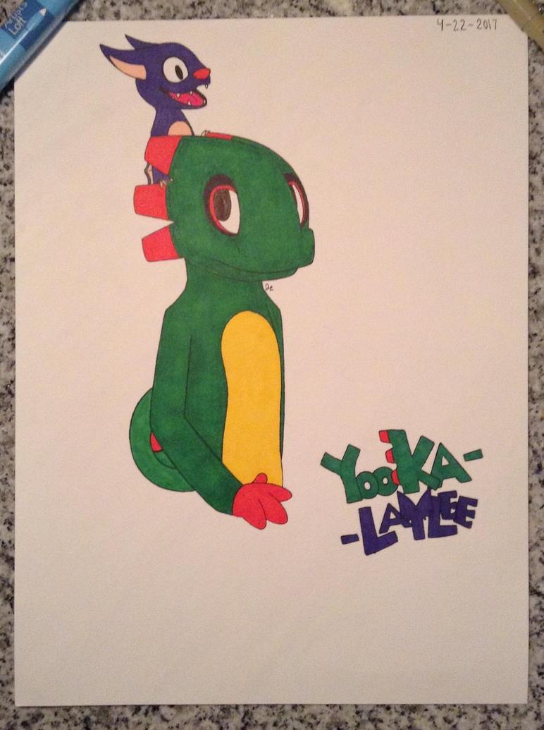 Yooka-Laylee by JacoTomo