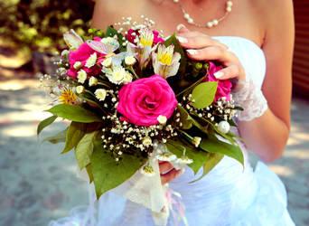 Wedding bouquet by EmiliaDea