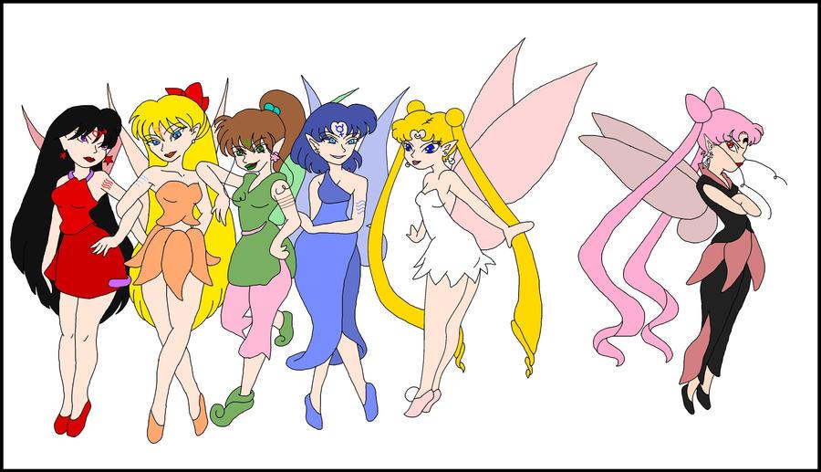 Sailor Fairies by nads6969