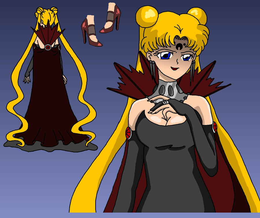 Dark NeoQueen Serenity By Nads6969 On DeviantArt