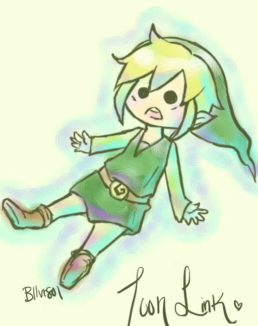 Toon Link by bllvr801