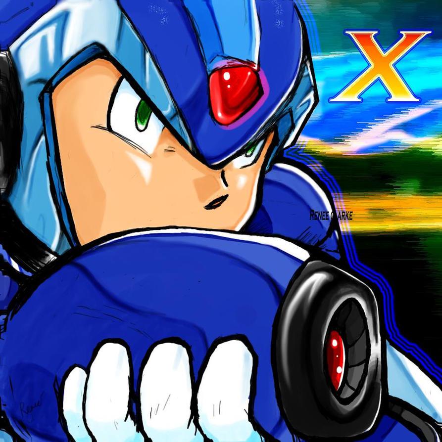 Megaman X by SHizukA-Shi