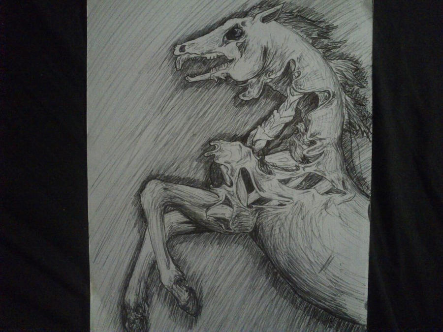 Zombie horse by brunonade on DeviantArt