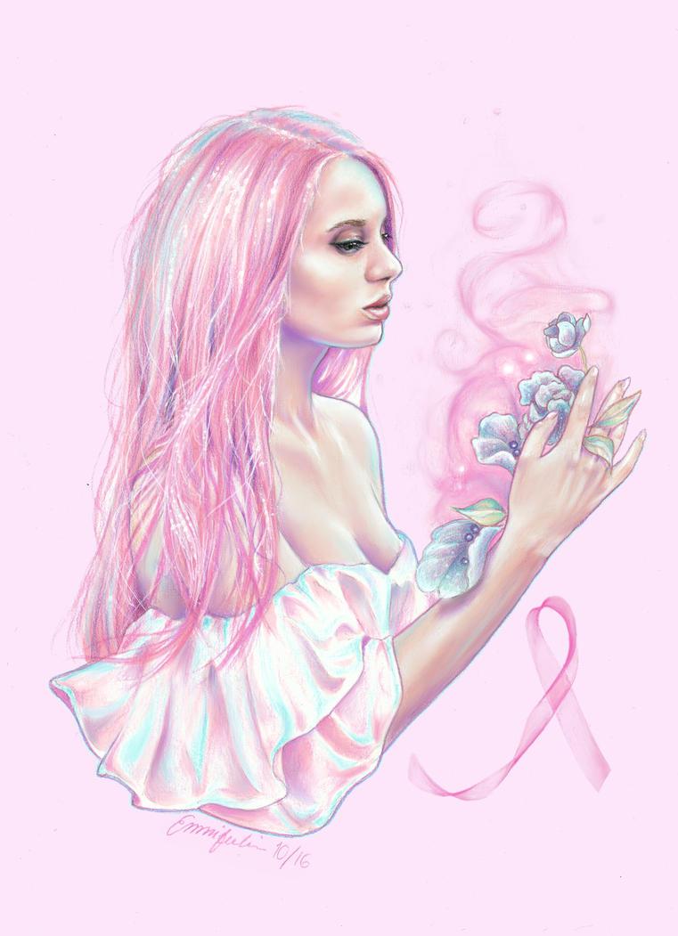 Pink Ribbon by emmijulin