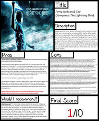 Pros and Cons: The Lightning Thief (film)