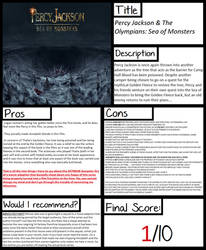 Pros and Cons: Sea of Monsters (film)