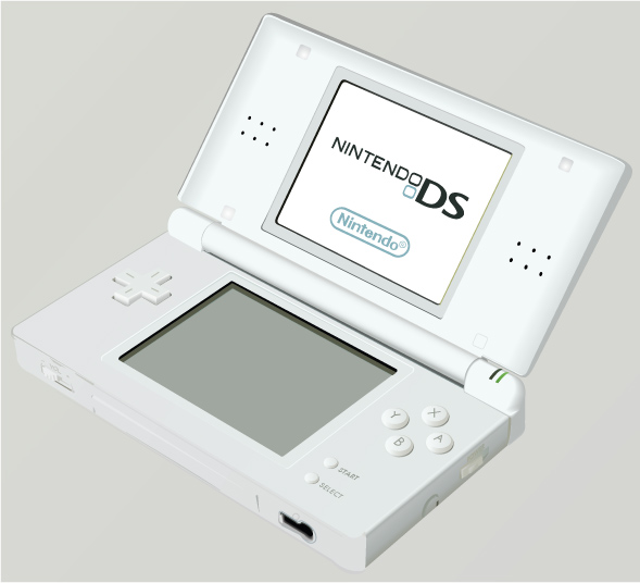 Nintendo DS vector re-creation by Spencer Goldade