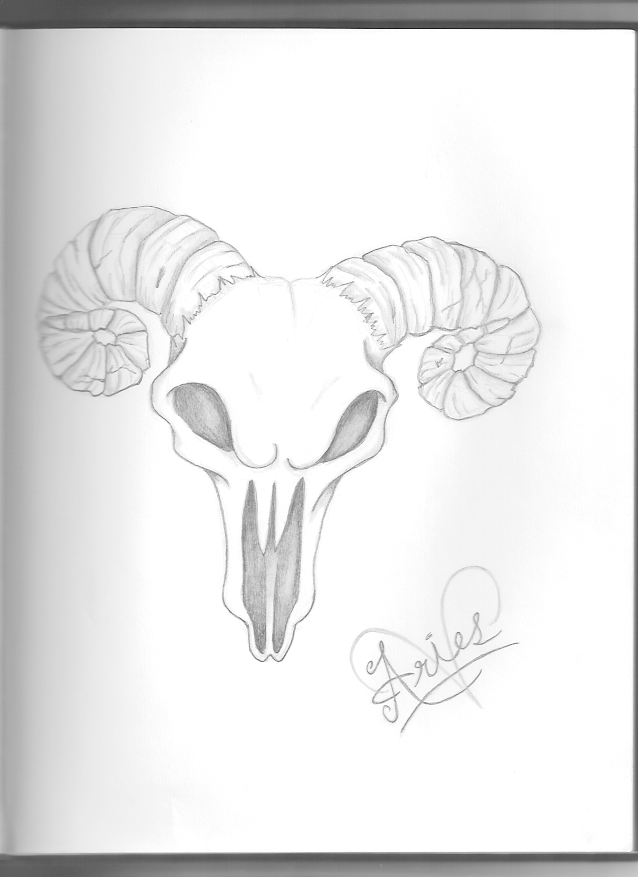 Aries Tattoo Design by ~SafetyPins16 on deviantART