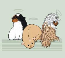 three little piggies by Densetsugin