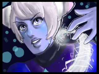 Steven Universe - Holly Blue Agate by 25thHanabusa