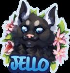 Jello badge