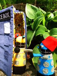 A Dalek Night Out by greenchylde