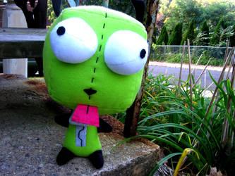 custom Gir Plushie by greenchylde