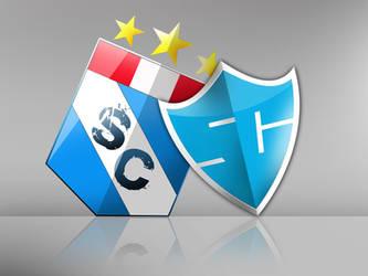 Sporting Cristal escudo by 9ary