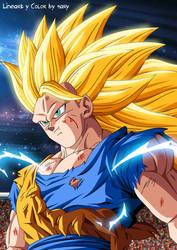 Goku ssj3 by 9ary