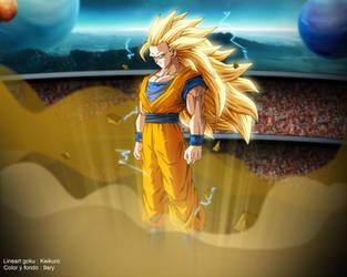 Goku ssj3 dbm by 9ary