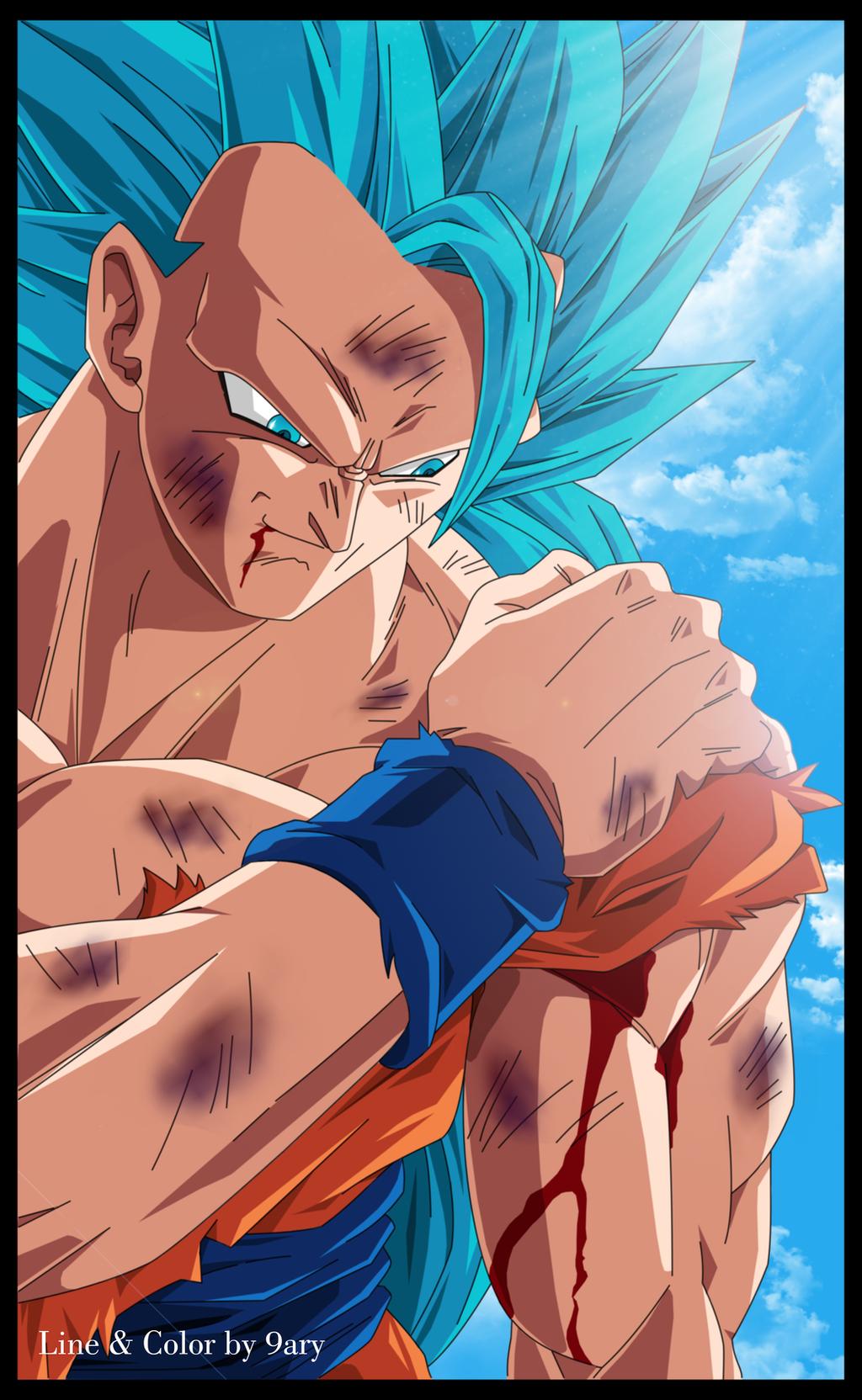 Goku ssgss3 by 9ary