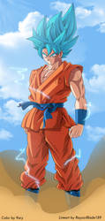 Goku ssgss by 9ary