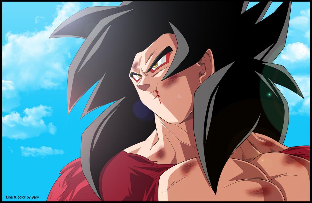Goku ss4 by 9ary