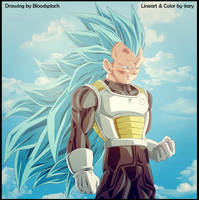 vegeta ssgss3 by 9ary
