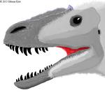 Yutyrannus Huali head (Updated)