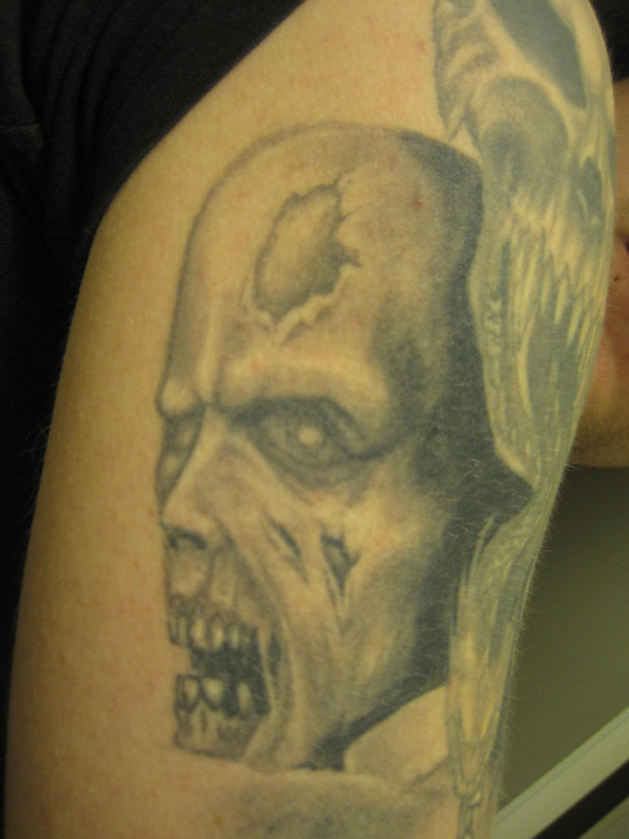Resident evil Tattoo Zombie by Jonanas on DeviantArt