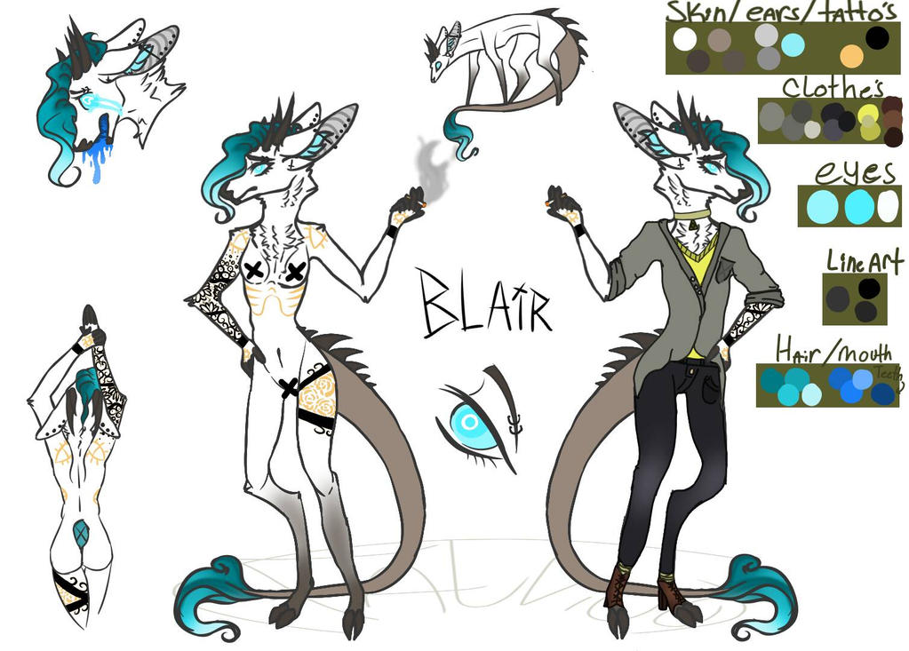 Blair  by falvico
