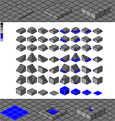Pixel Tiles Pack  fixed  by maxicube on DeviantArt
