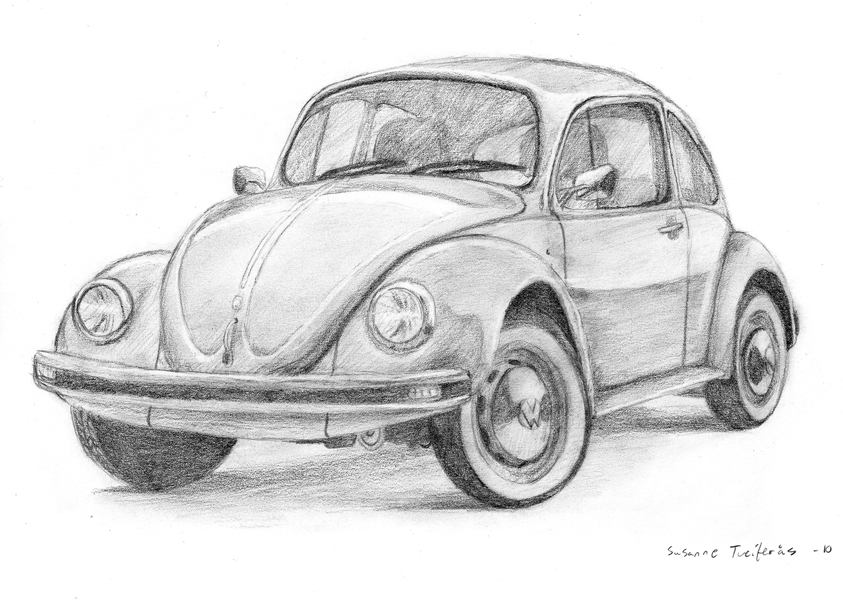 Beetle Car By Nettosanne On Deviantart