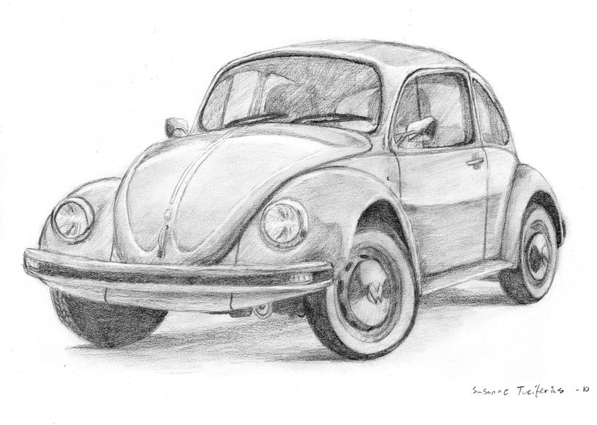 Line Drawing Vw Beetle : Beetle car by nettosanne on deviantart