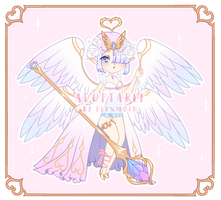 (OPEN - Set price) [Adopt] Blue and pink Angel