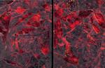 Sketchbook - Black Red 8.5 x 11