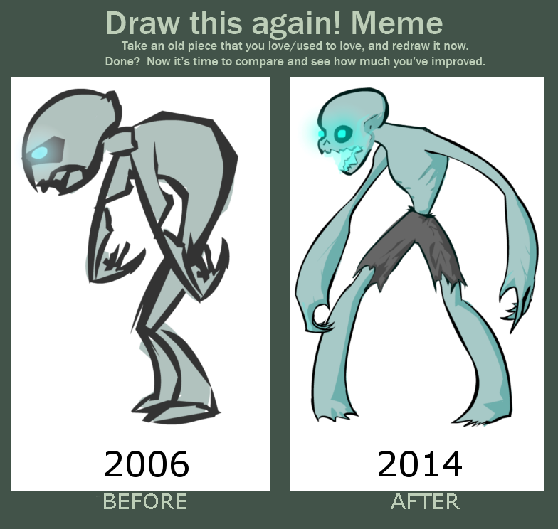 Draw This Again Zombie
