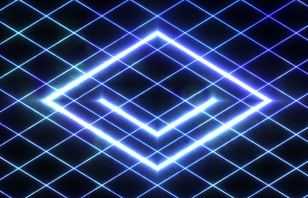 Glowing Grid