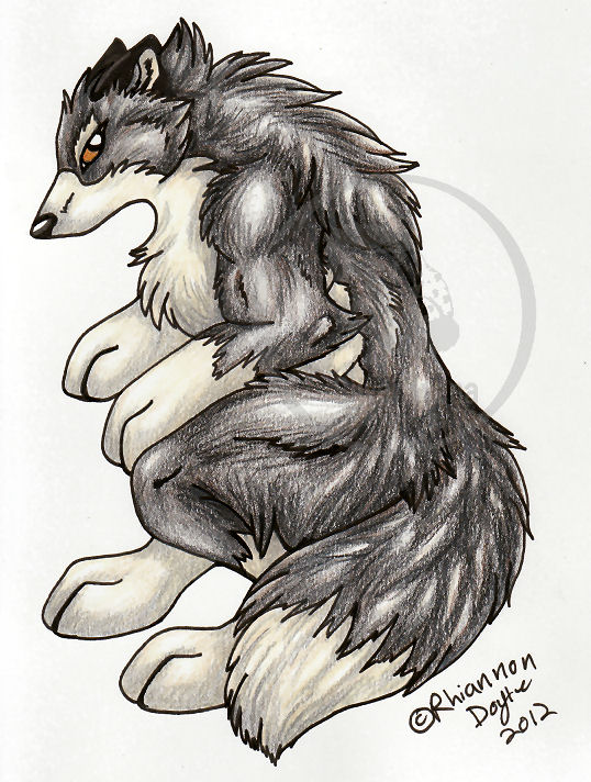 Cute Werewolf by TheSilverhyena on DeviantArt