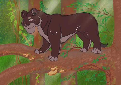 Safi of the forest pride