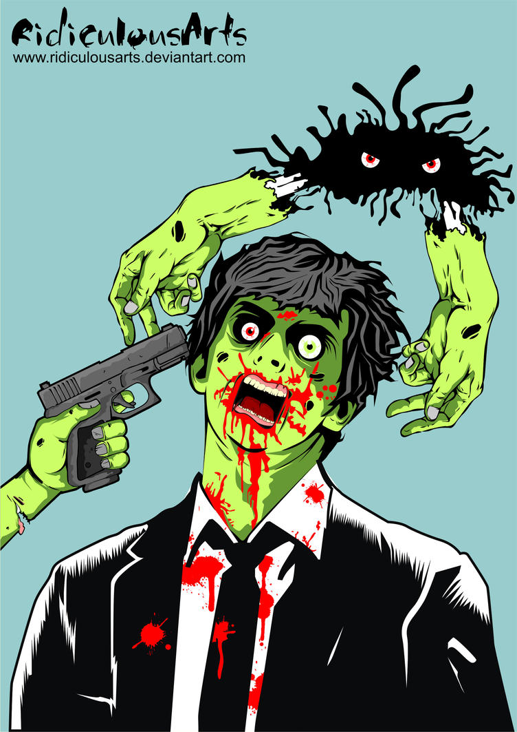 zombie by RidiculousArts