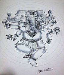 ganesha by RidiculousArts
