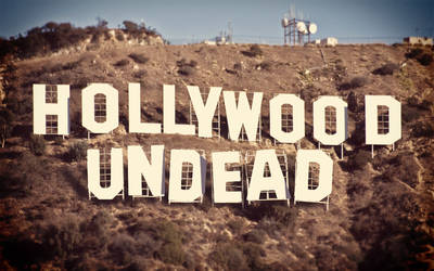 Hollywood Undead (Hollywood Letter) Wallpaper by sergiooakbr