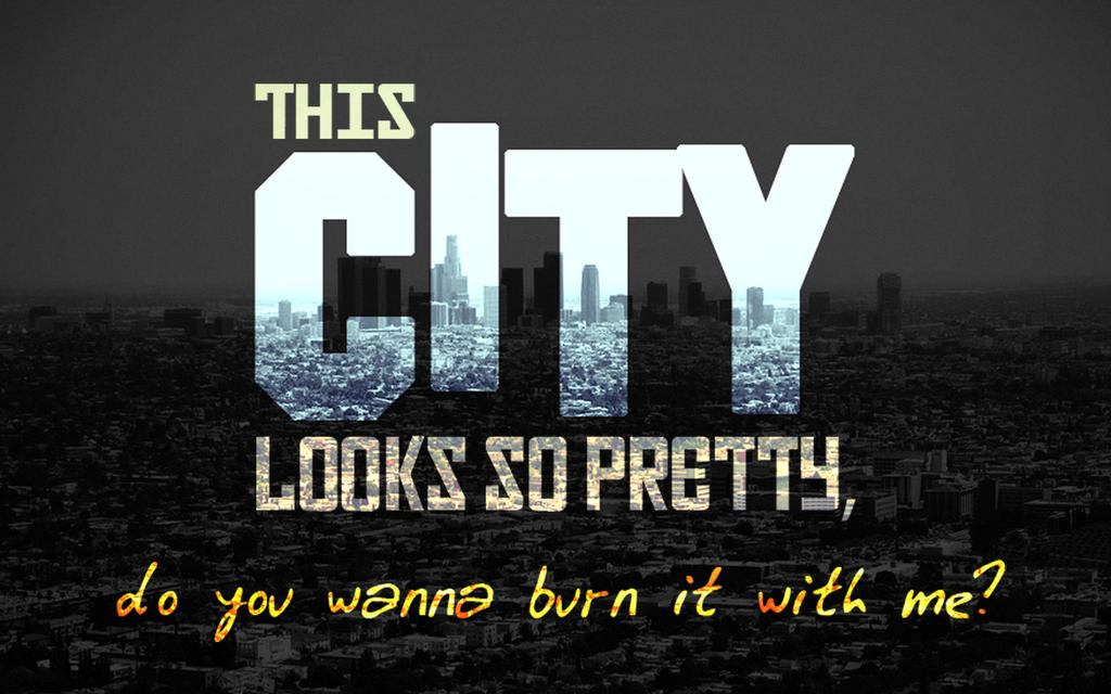 Hollywood Undead City Quote Wallpaper By Sergiooakbr
